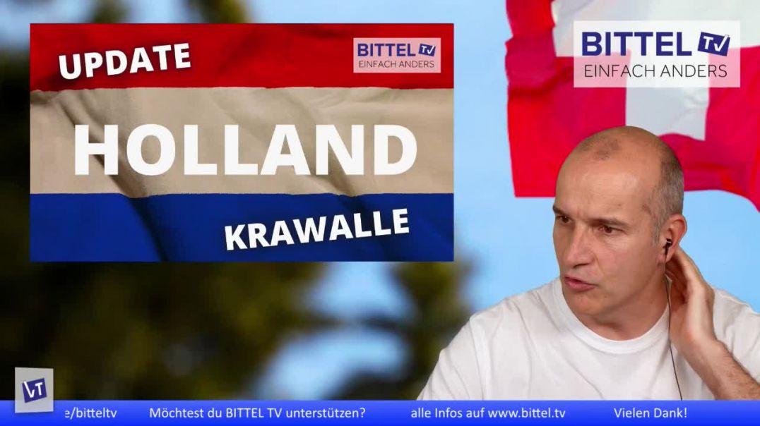 LIVE - Update Holland - Krawalle - Interview