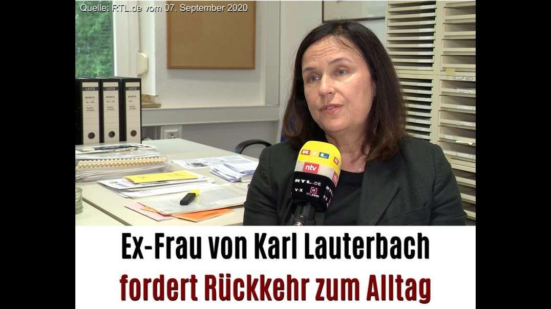 Angela Spelsberg - Ex-Frau von Karl Lauterbach fordert Rückkehr zum Alltag