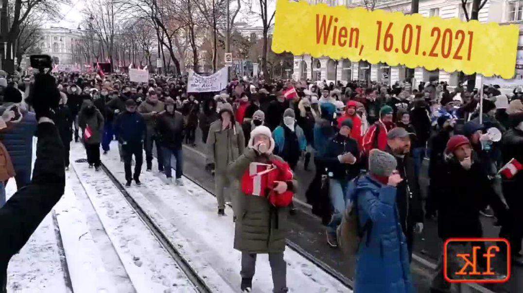 Wien wird WACH !!! 16.01.2021