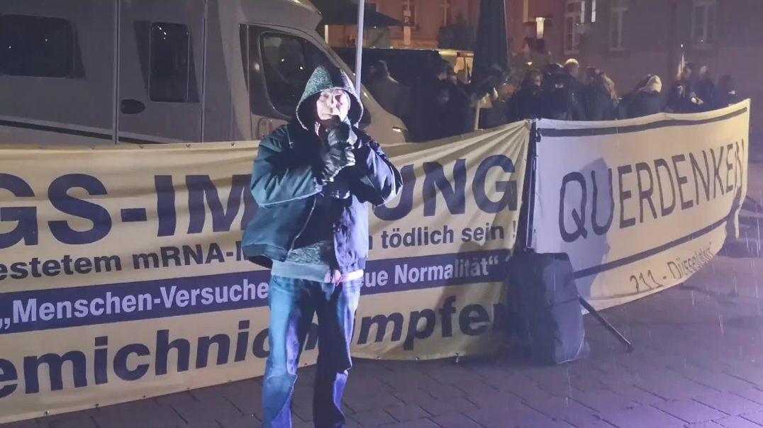 Korruption als Maßstab für die Elite? - Demo Stuttgart Wilhelmsplatz 31.12.20
