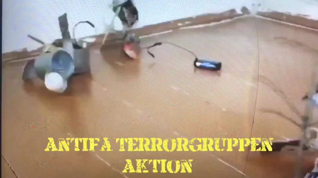 Antifa Terrorgruppen in Aktion