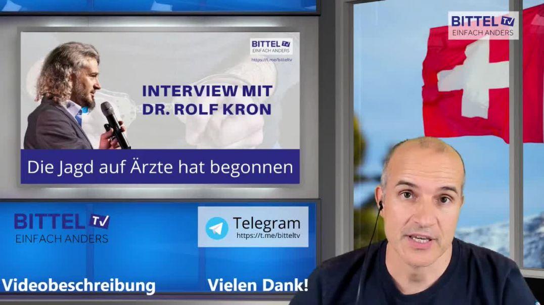 Live - Interview mit Rolf Kron - Die Jagd auf Ärzte hat begonnen