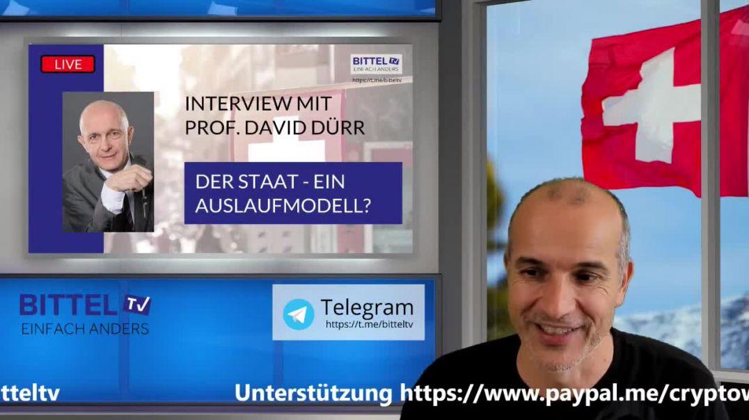 Live - Interview mit David Dürr - Der Staat - ein Auslaufmodell