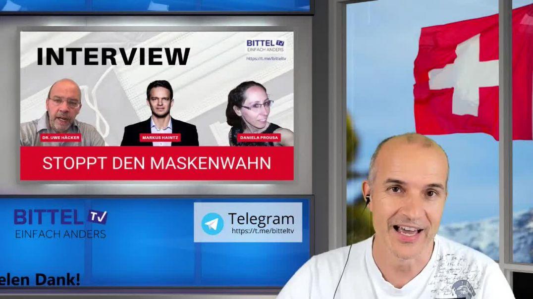 Live - Stoppt den Maskenwahn - Interview mit Dr. Uwe Häcker - Markus Haintz - Daniela Prousa