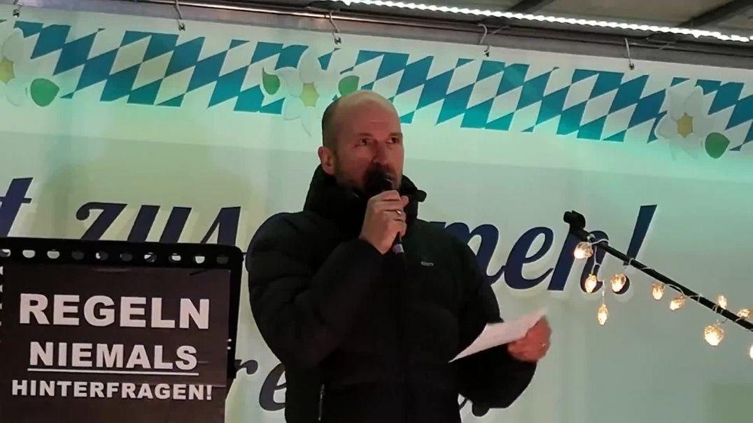 Rede Polizist Bernd Bayerlein Demo München 31.01.21 Verwaltungsgerichtshof