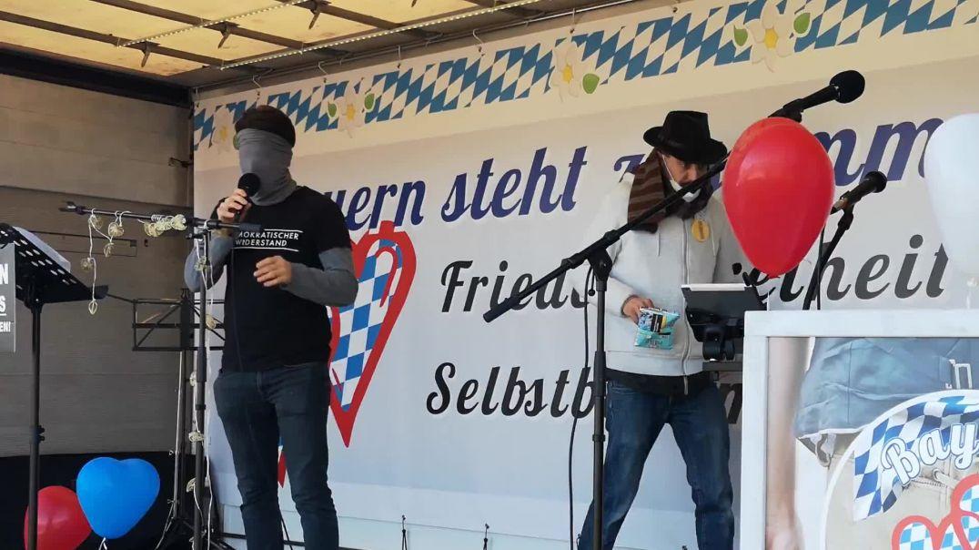 Markus Haintz Demo Wasserburg 21.02.21