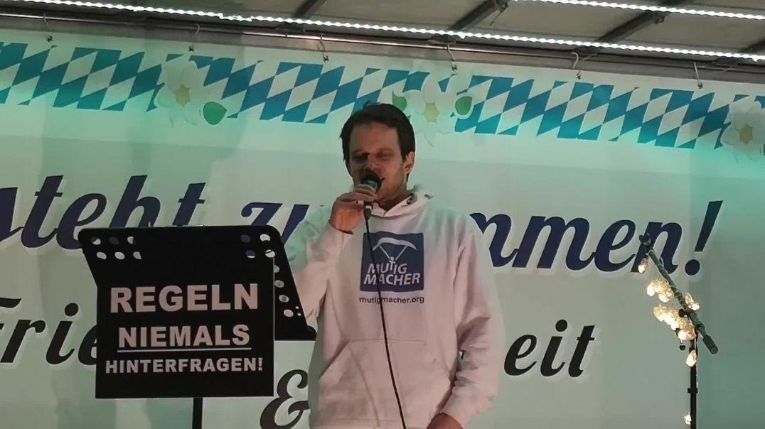 Demo München Pressevertreter Stefan Bauer ausgeschlossen 31.01.21 (Markus Haintz)