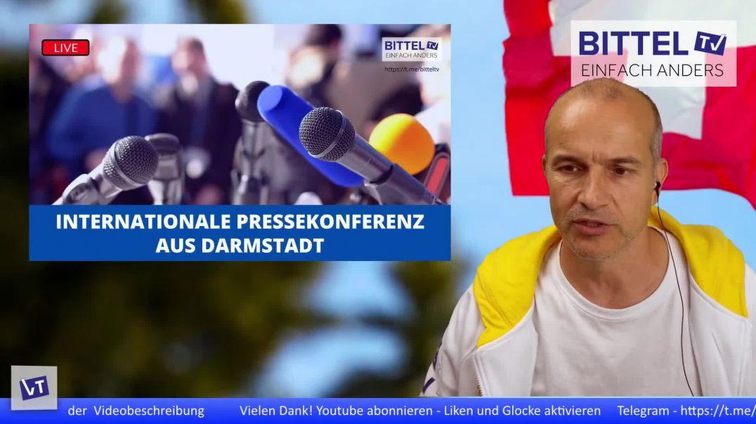 LIVE - Internationale Pressekonferenz aus Darmstadt