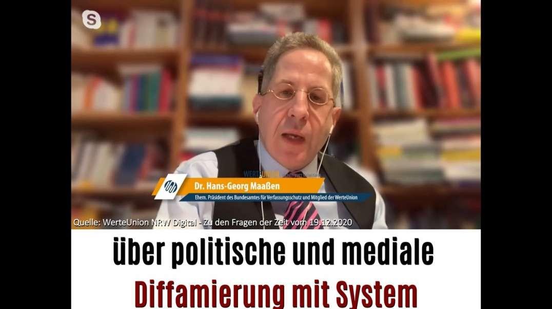 Hans-Georg Maaßen über politische und mediale Diffamierung