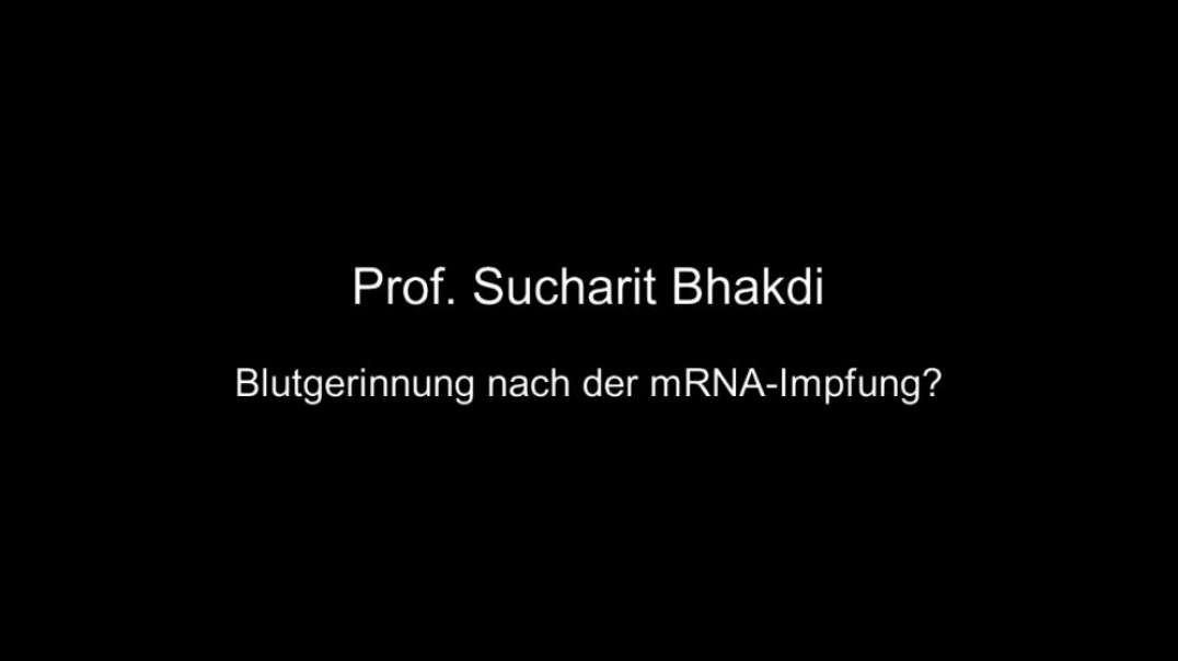 Prof. Bhakdi: Blutgerinnung nach der mRNA-Impfung?