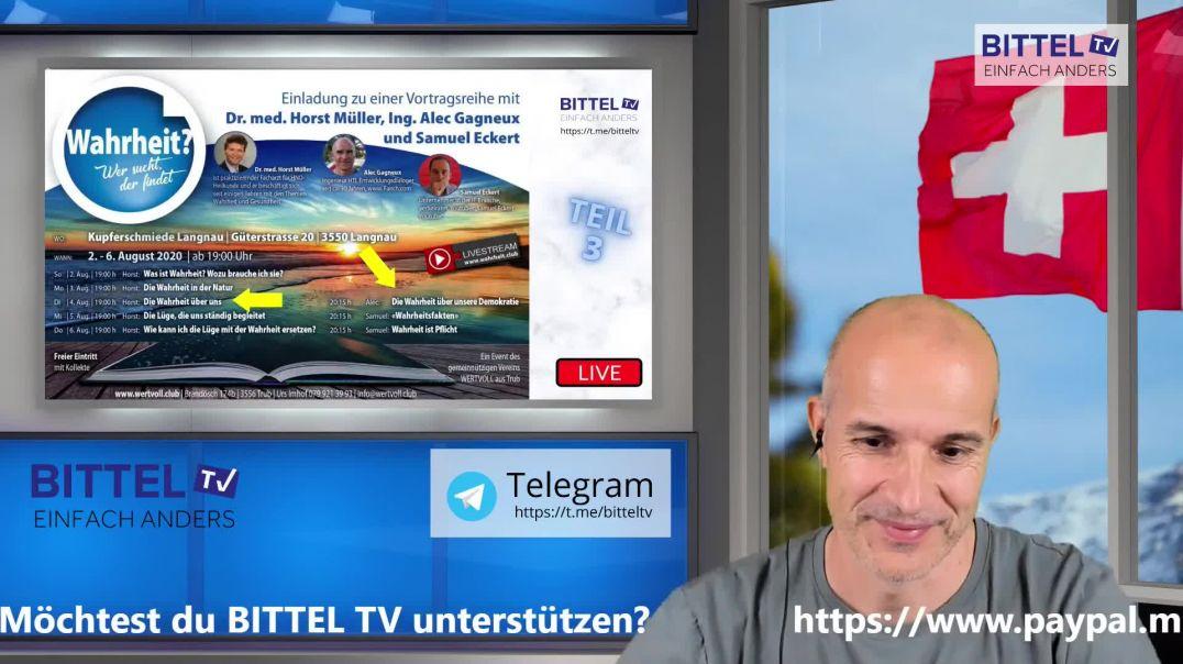 Live - Vorträge von Dr. med. Horst Müller und Alec Gagneux - Teil 3