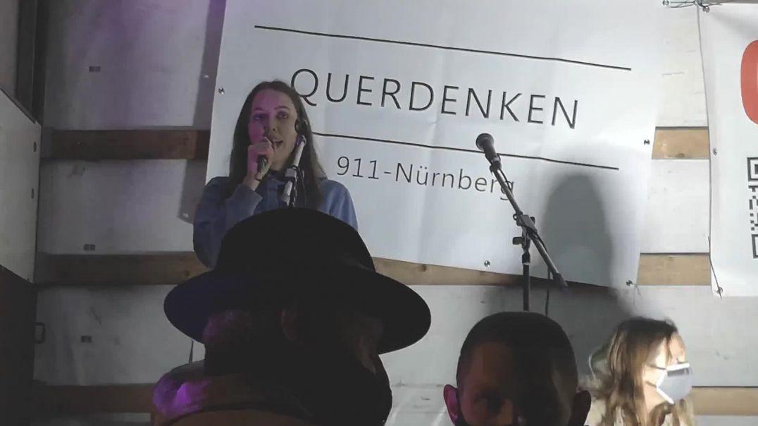 Rede von Anna #Nürnberg #Querdenken 911 Demo vom 20.02.21
