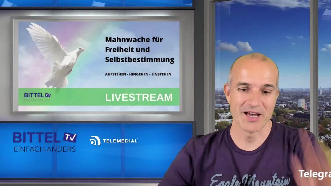 Live - Mahnwache für Freiheit und Selbstbestimmung -  Schorndorf Oberer Marktplatz