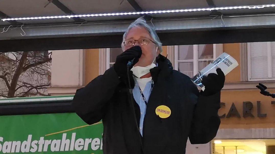 Plandemie und Gleichschaltung der Medien Demo München 28.02.21