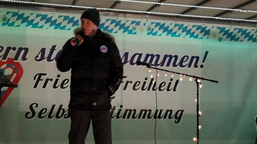 Florian Friedensfahrzeug Demo München 31.01.21