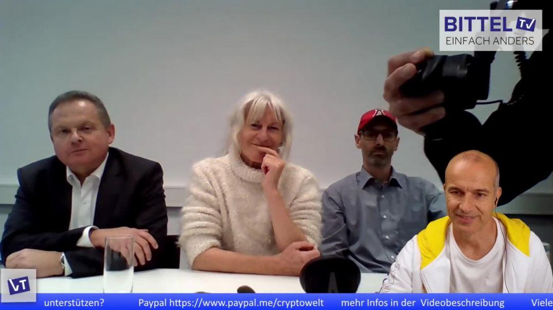 Pressekonferenz mit internationalen Experten zur akuten Gesundheitsgefährdungdurch Masken