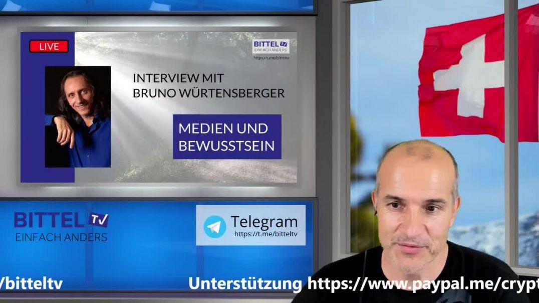 Live - Interview mit Bruno Würtenberger - Der Staat - Medien und Bewusstsein