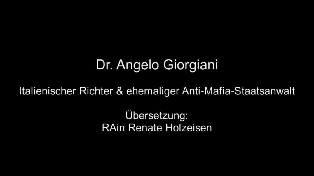 Dr. Angelo Giorgiani: Verbrechen gegen die Menschlichkeit [DE/IT]