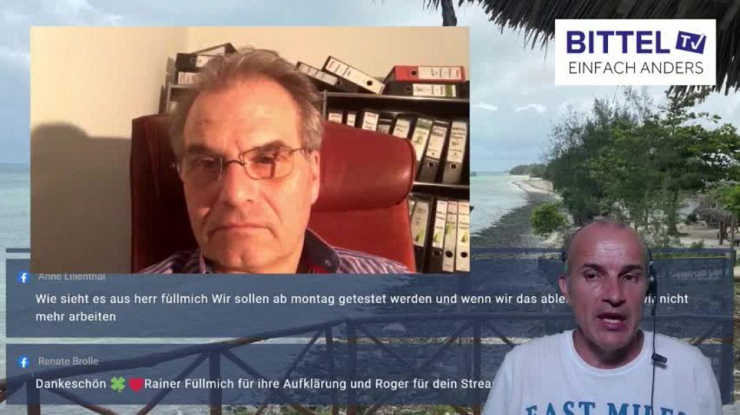 LIVE - Zusammenfassung Corona Ausschuss mit Reiner Füllmich
