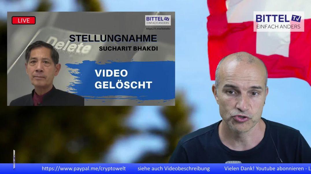 LIVE - Video gelöscht - Stellungnahme Sucharit Bhakdi