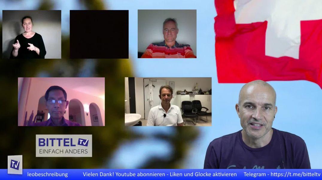 LIVE - Dialog - National- und Ständeräte mit Sucharit Bhakdi und Bodo Schiffmann