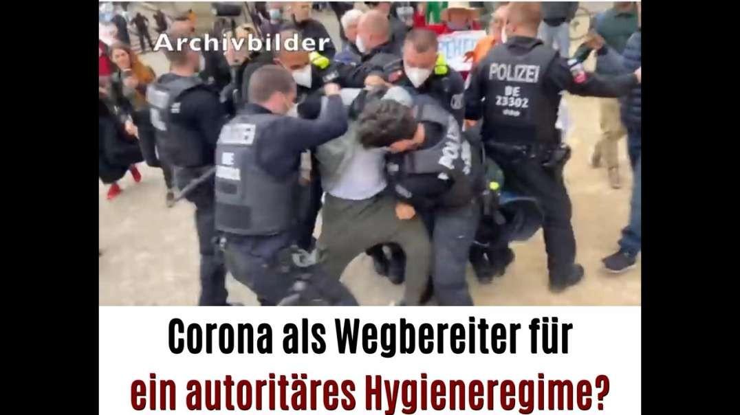Corona als Wegbereiter für ein autoritäres Hygieneregime?