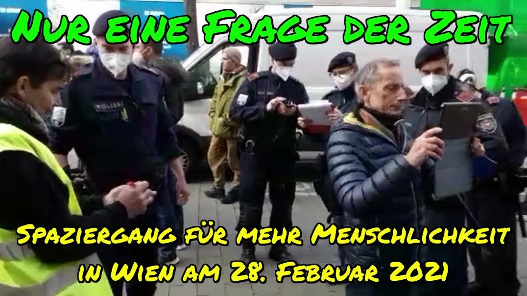 NUR EINE FRAGE DER ZEIT: Rede von Steve Whybrow am 28. Februar 2021