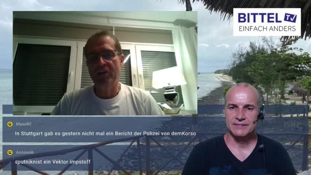 LIVE - neues Studio und Bericht mit Wolfgang Greulich