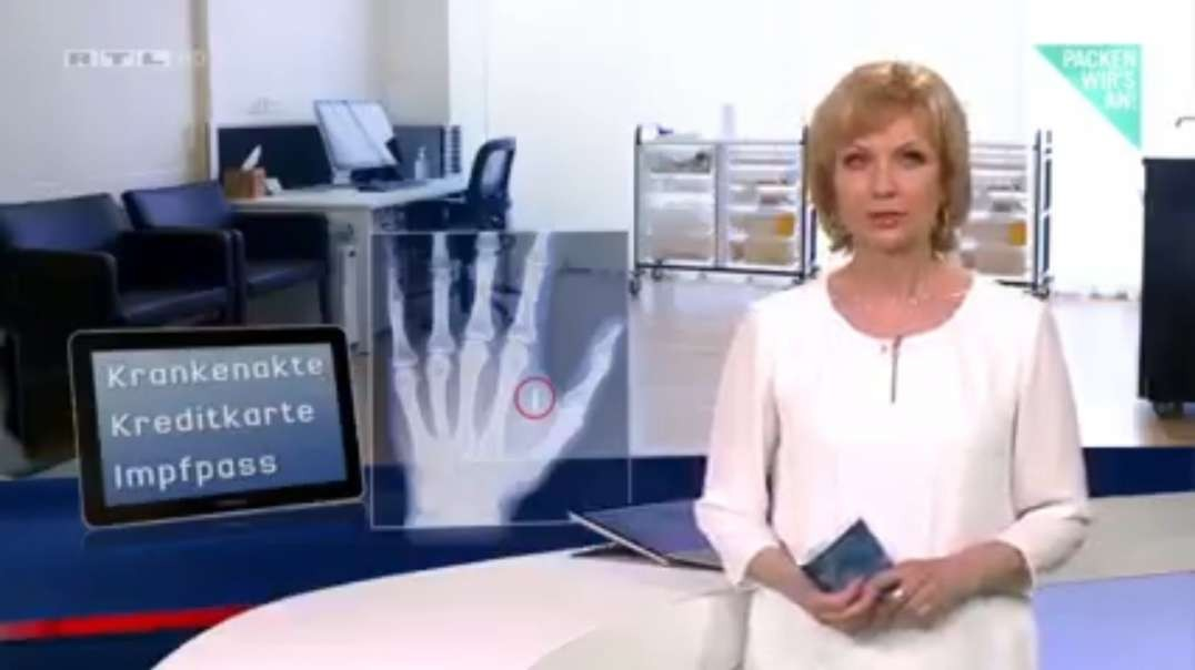 RTL macht Werbung für den Mikrochip (RTL Nachtjournal vom 24.3.2021)