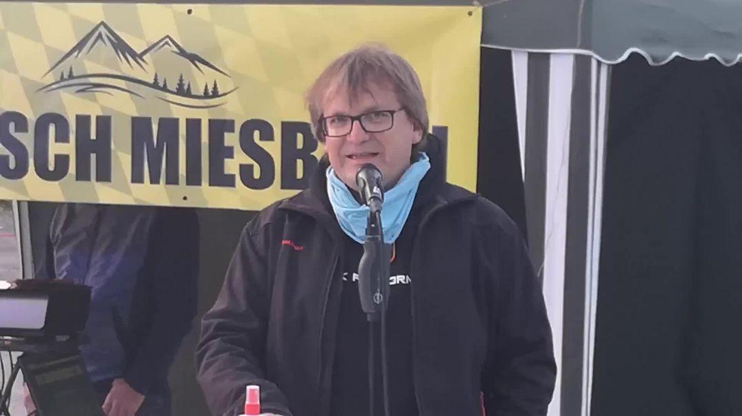 Bürgerstammtisch Miesbach Miteinander statt Gegeneinander 27.04.21