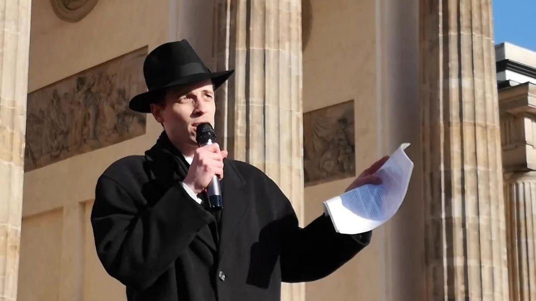 Schweigende Mehrheit stürzt uns in Krise - Demo Berlin Brandenburger Tor 05.04.21