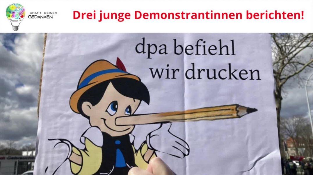 DEMO FREIBURG Berichterstattung 2021 - Badische Zeitung Schwurbelt!