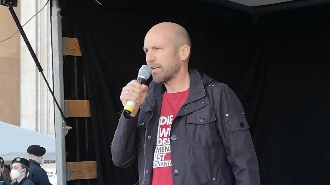 Rede Polizist Bernd Bayerlein Demo München 11.04.21