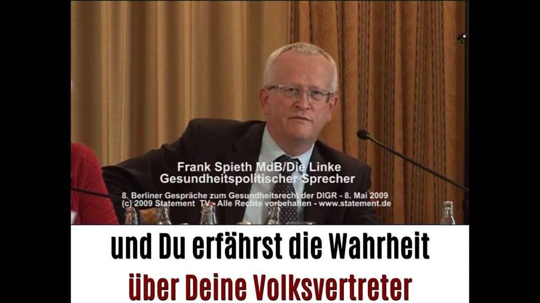 Lauterbach faulLauterbach der faulste Abgeordnete - Schau in die Vergangenheit