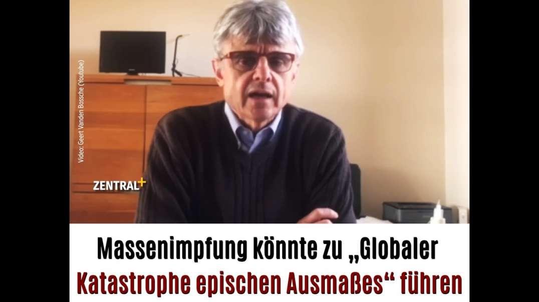 """Massenimpfung könnte zu """"Globaler Katastrophe epischen Ausmaßes"""" führen"""