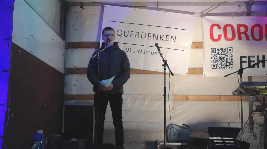 Studenten für Aufklärung Michael Nürnberg Querdenken 911 Demo vom 20.02.21