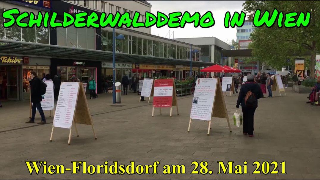 AKTIV GRUPPE WIEN: SCHILDERWALD-DEMO in Wien am 28. Mai 2021