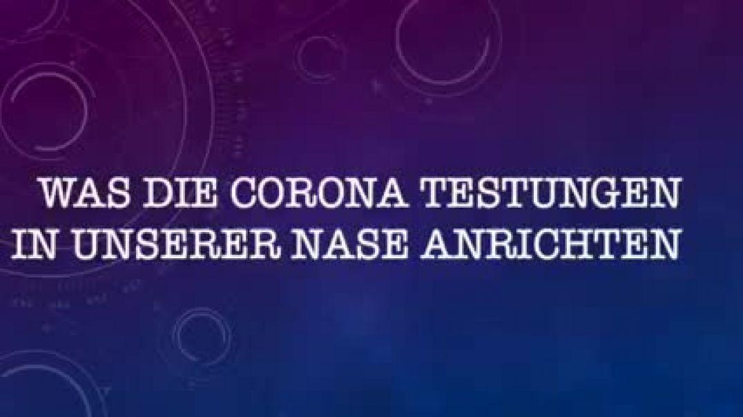 Dr. Thoma: Was Corona-Tests in der Nase anrichten können