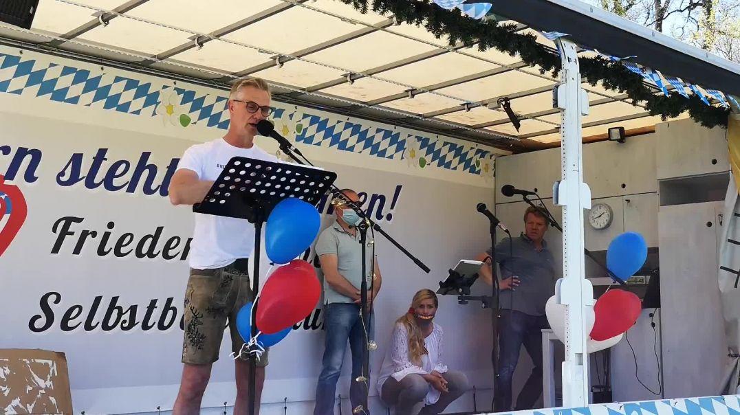 Rede von Bernd Dreyer Demo Landshut 09.05.21