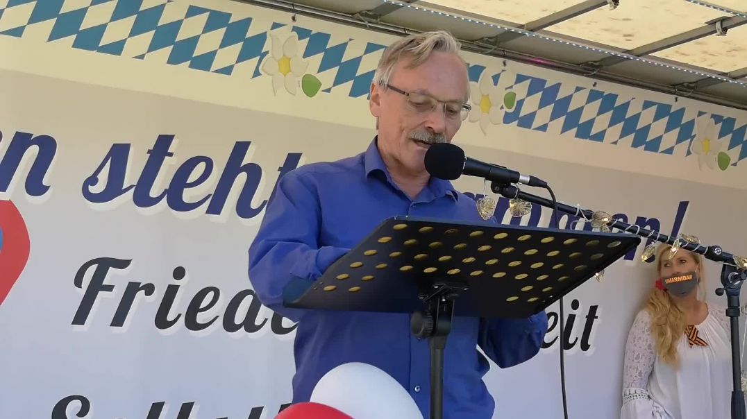 Rede Oberst a.D Maximilian Eder Demo Landshut 09.05.21
