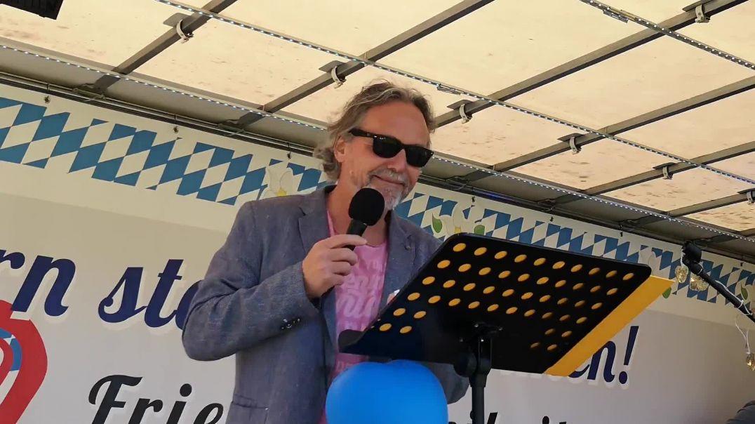 Rede von Dr. Ronald Weikl Demo Landshut 09.05.21