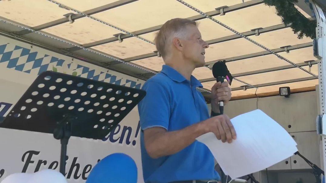 Rede von Prof. Christian Kreiß Demo Landshut 09.05.21