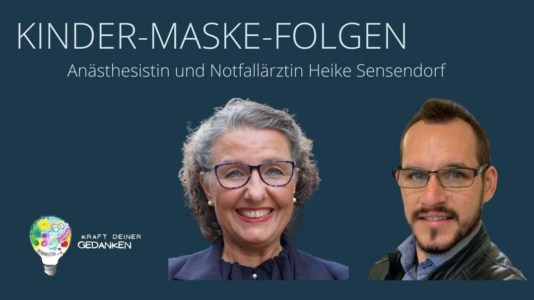WICHTIG!!! KINDER-MASKE-FOLGEN: Anästhesistin und Notfallärztin Heike Sensendorf klärt auf!