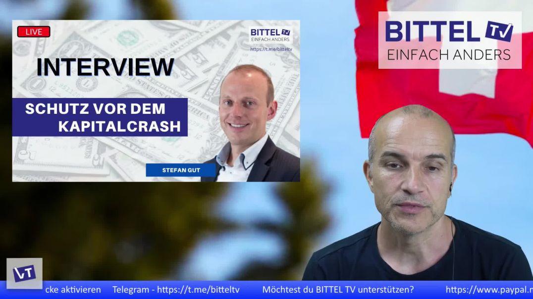 LIVE - Interview mit Stefan Gut - Schutz vor dem Kapitalcrash