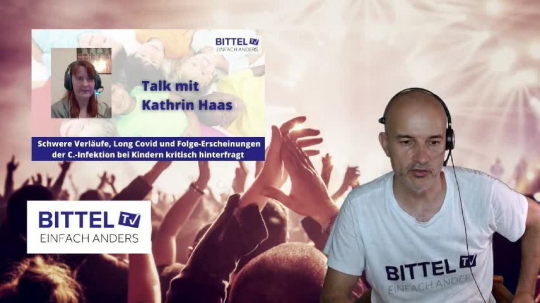 LIVE - Talk mit Kathrin Haas - Corona bei Kindern kritisch hinterfragt