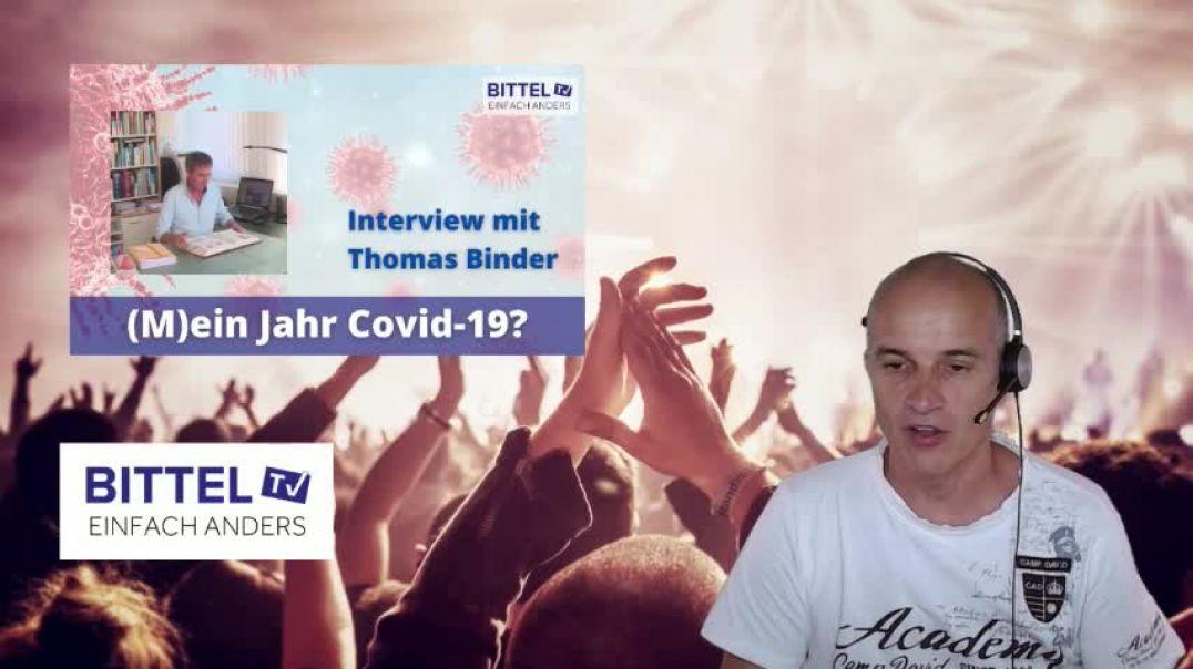 LIVE - Interview mit Thomas Binder - (M)ein Jahr Covid-19?