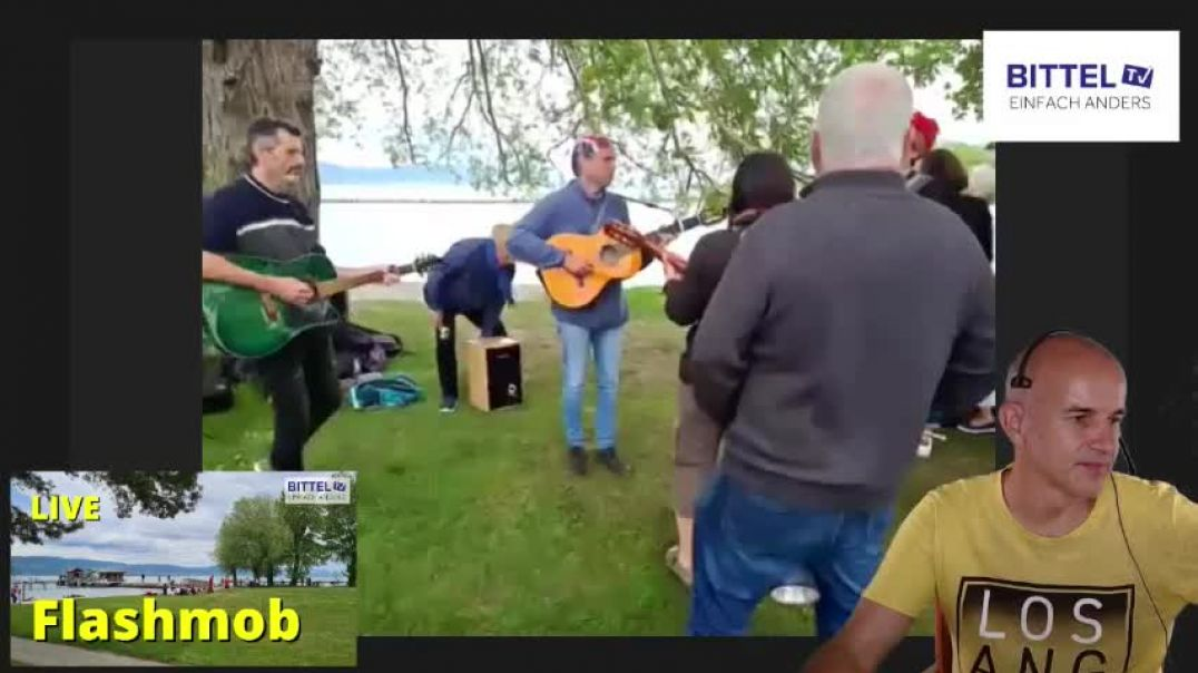 LIVE - Flashmob in der Schweiz