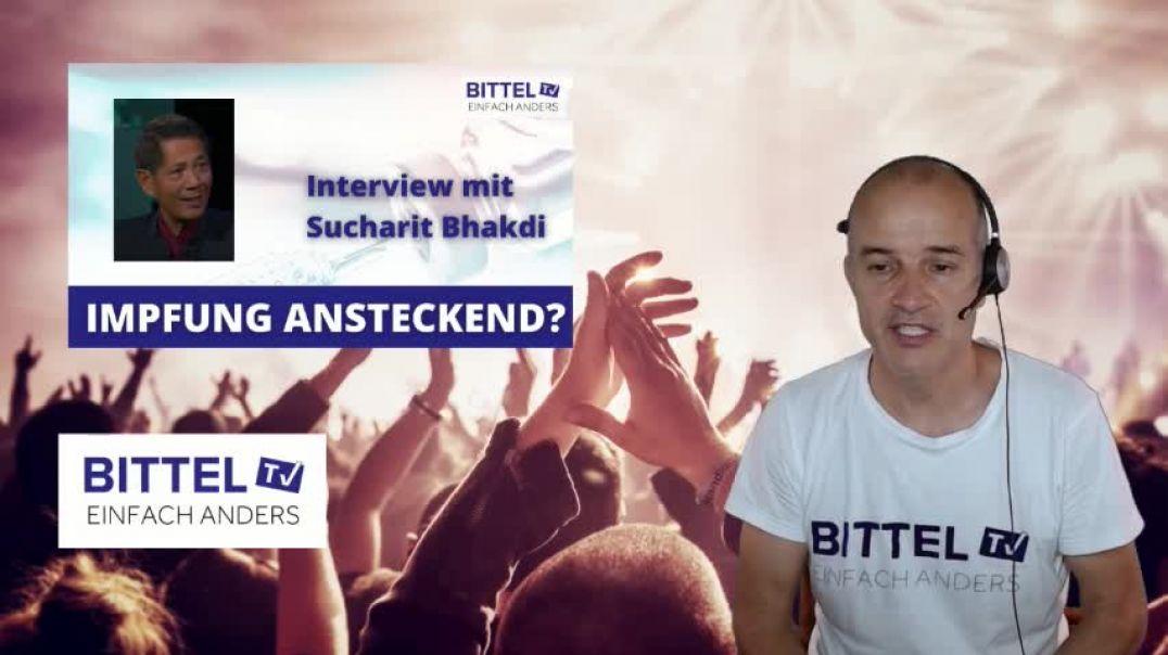 LIVE - Interview mit Sucharit Bhakdi - Impfung ansteckend?