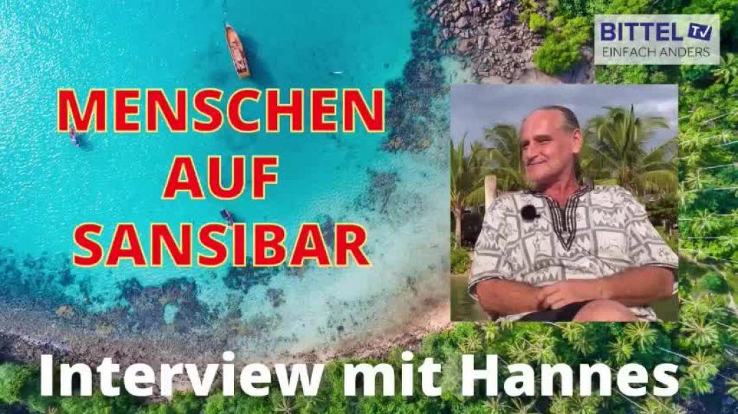 LIVE - Menschen auf Sansibar - Interview mit Hannes