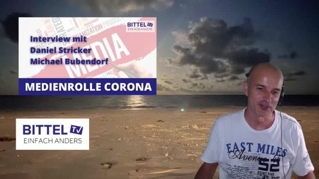 LIVE - Medienrolle Corona - Interview mit Daniel Stricker und Michael Bubendorf